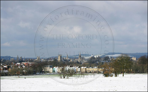OXFORD SPIRES IN SNOW